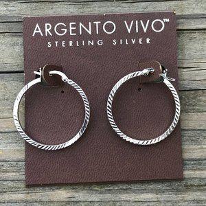 Argento Vivo Women Earrings Sterling Silver Jewelr